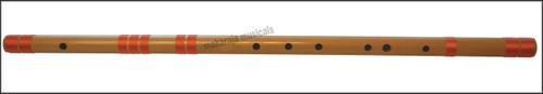 MAHARAJA Concert, Scale C Sharp Bass 34 Inches, Finest Indian Bansuri, Bamboo Flute, Hindustani - No. 360