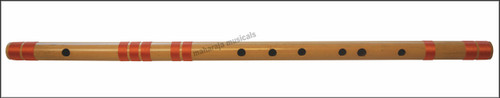 MAHARAJA Concert, Scale F Natural Bass 28.5 Inches, Finest Indian Bansuri, Bamboo Flute, Hindustani - No. 369