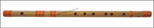 MAHARAJA Concert, Scale G# Sharp Bass 24.5 Inches, Finest Indian Bansuri, Bamboo Flute, Hindustani - No. 375