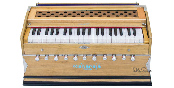 buy Harmonium No.115 - 11 Stop, A440, 42 Keys, Natural Color With Coupler for sale