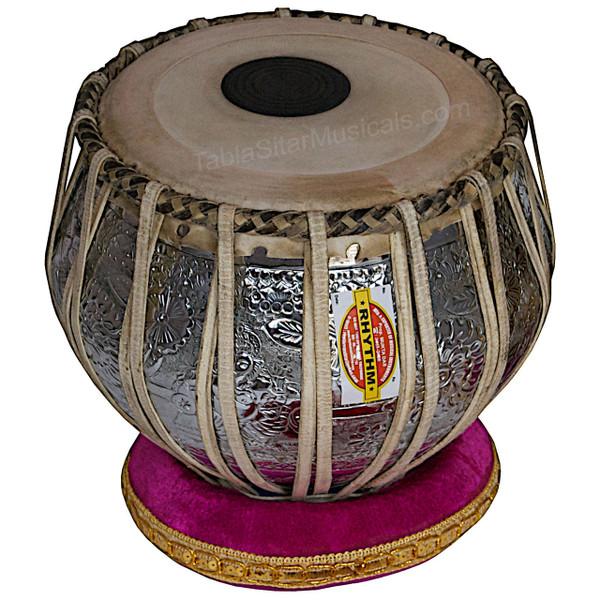 Mukta Das Tabla Set 4kg Ganesha Chrome Bayan, Maha-agni Dayan