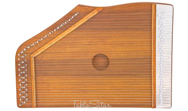MAHARAJA MUSICALS Swarmandal, Natural Color, 36 Strings - No. 113