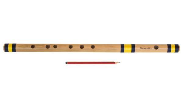 buy Sarfuddin Flutes Concert, Scale B Natural Bass 20 inches, FINEST Indian Bansuri, Bamboo Flute, Hindustani