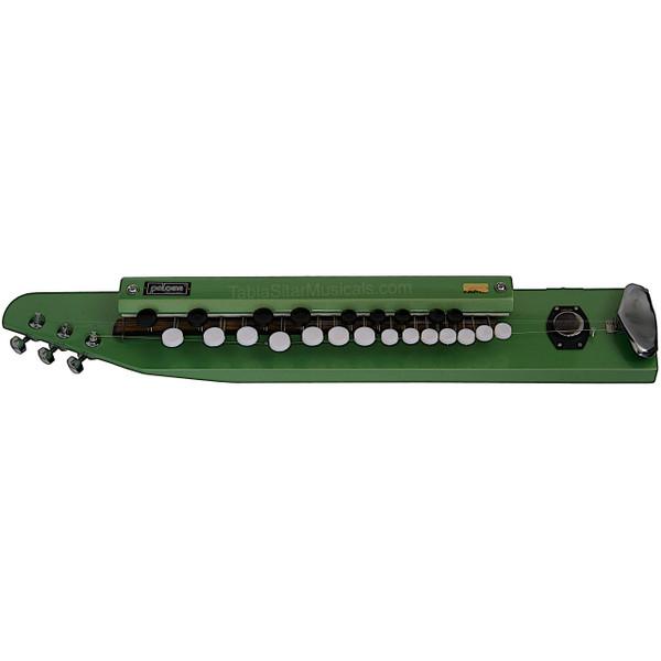 PALOMA Bulbul Tarang, Green Color, Indian Banjo - No. 00408