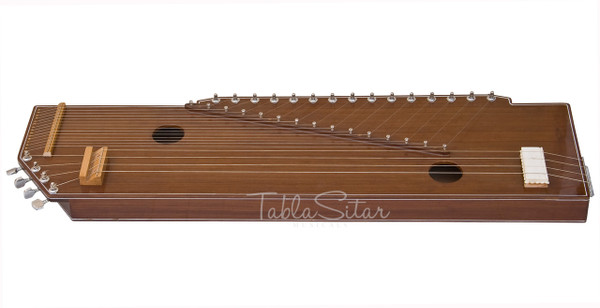 MKS Sur Tanpura, Male, 4 Strings, Natural, Fiber Trolly