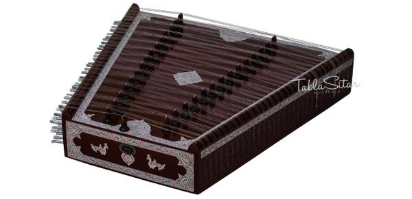 Kanai Lal & Sons Santoor/Santur Teak Wood - No. 579