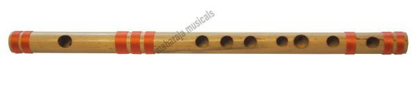 MAHARAJA Concert, Scale B Natural Medium 10 Inches, Finest Indian Bansuri, Bamboo Flute, Hindustani - No. 356