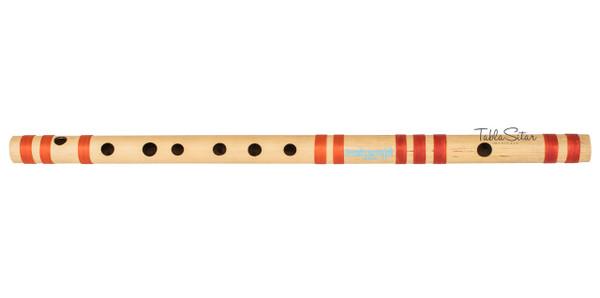 MAHARAJA Concert, Scale C Sharp MEDIUM 18.6 Inches, Finest Indian Bansuri, Bamboo Flute, Hindustani - No. 361