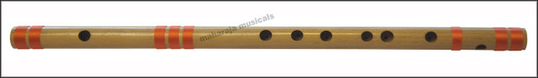 MAHARAJA Concert, Scale C Sharp Small 9 Inches, Finest Indian Bansuri, Bamboo Flute, Hindustani - No. 362