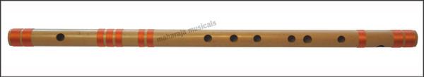 MAHARAJA Concert, Scale G# Sharp Bass 24.5 Inches, Finest Indian Bansuri, Bamboo Flute, Hindustani - No. 375