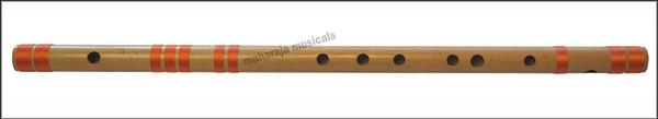 MAHARAJA Concert, Scale G Natural Bass 25.5 Inches, Finest Indian Bansuri, Bamboo Flute, Hindustani - No. 373
