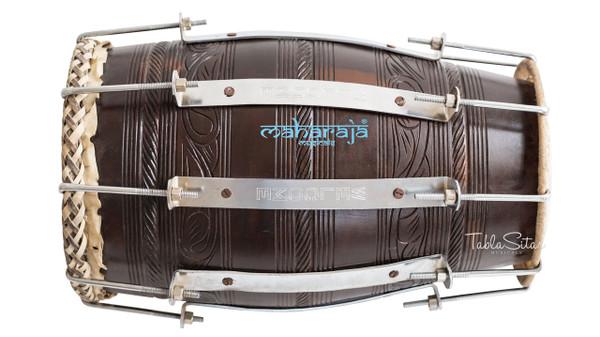 MAHARAJA MUSICALS Professional Mango Naal, Natural Color, Bolt tuned, Bag - No. 630