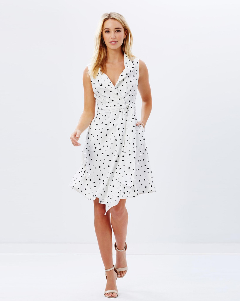 Ladies Dresses | Dotty Dress | KITCHY KU