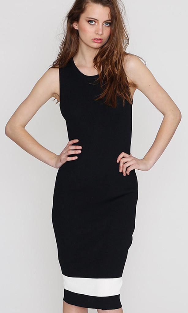 Ladies Dresses Online | Knit Tube Dress | HONEY & BEAU