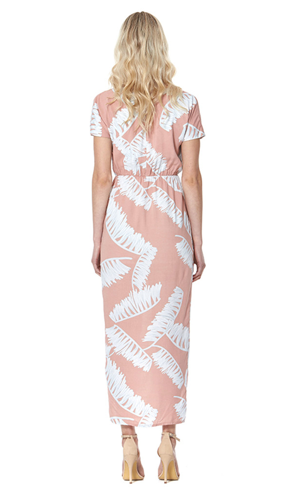 Feather Maxi Dress by AMELIUS