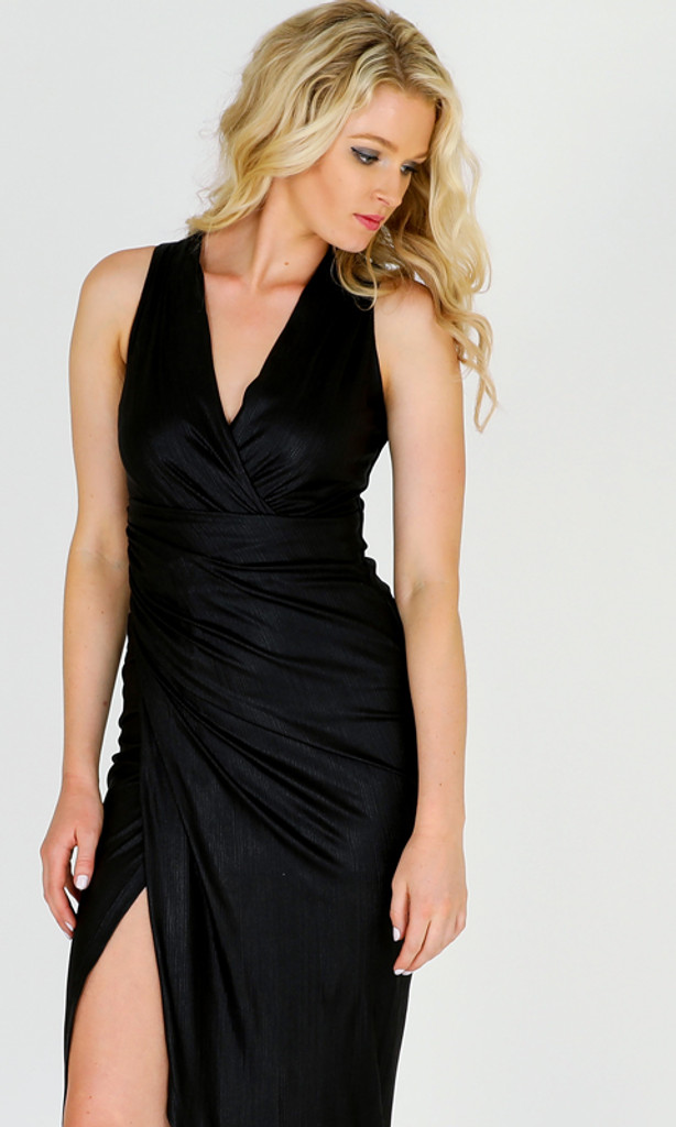 Women's Dresses Online Australia | Night of Nights Midi Wrap Dress | 3RD LOVE