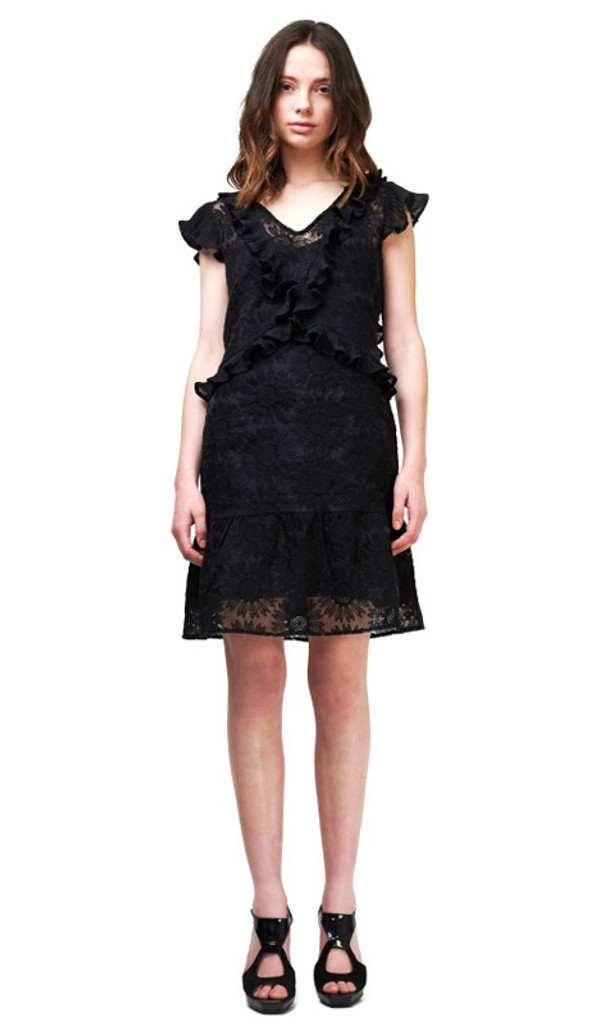 Ladies Dresses | Briar Embroidered Dress | SAINT ROSE