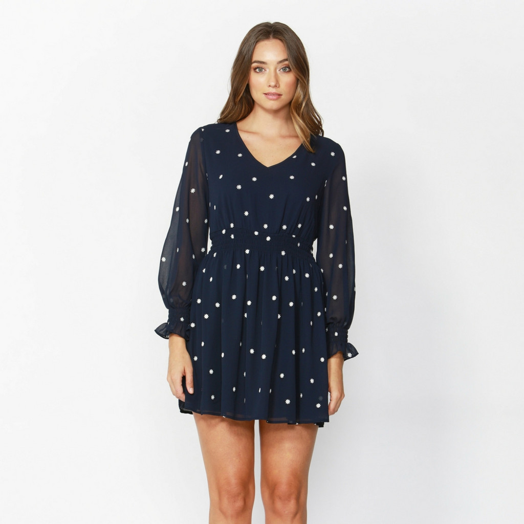 Ladies Dresses | Daisy Fields Embroidered Dress | SASS