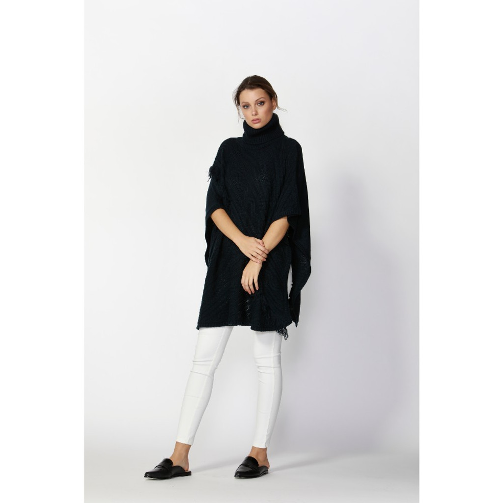 Women's Tops Online | Meant-To-Be Poncho | FATE + BECKER