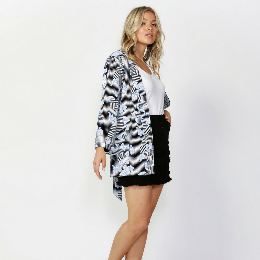 Women's Jackets Online   Earn Your Stripes Bed Jacket   SASS