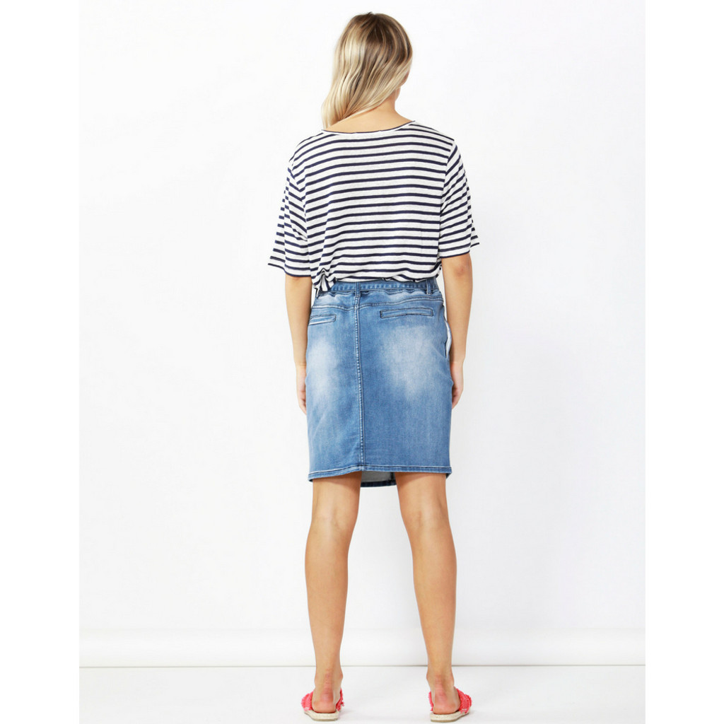 039042d88 Non Stretch Denim Skirt – DACC