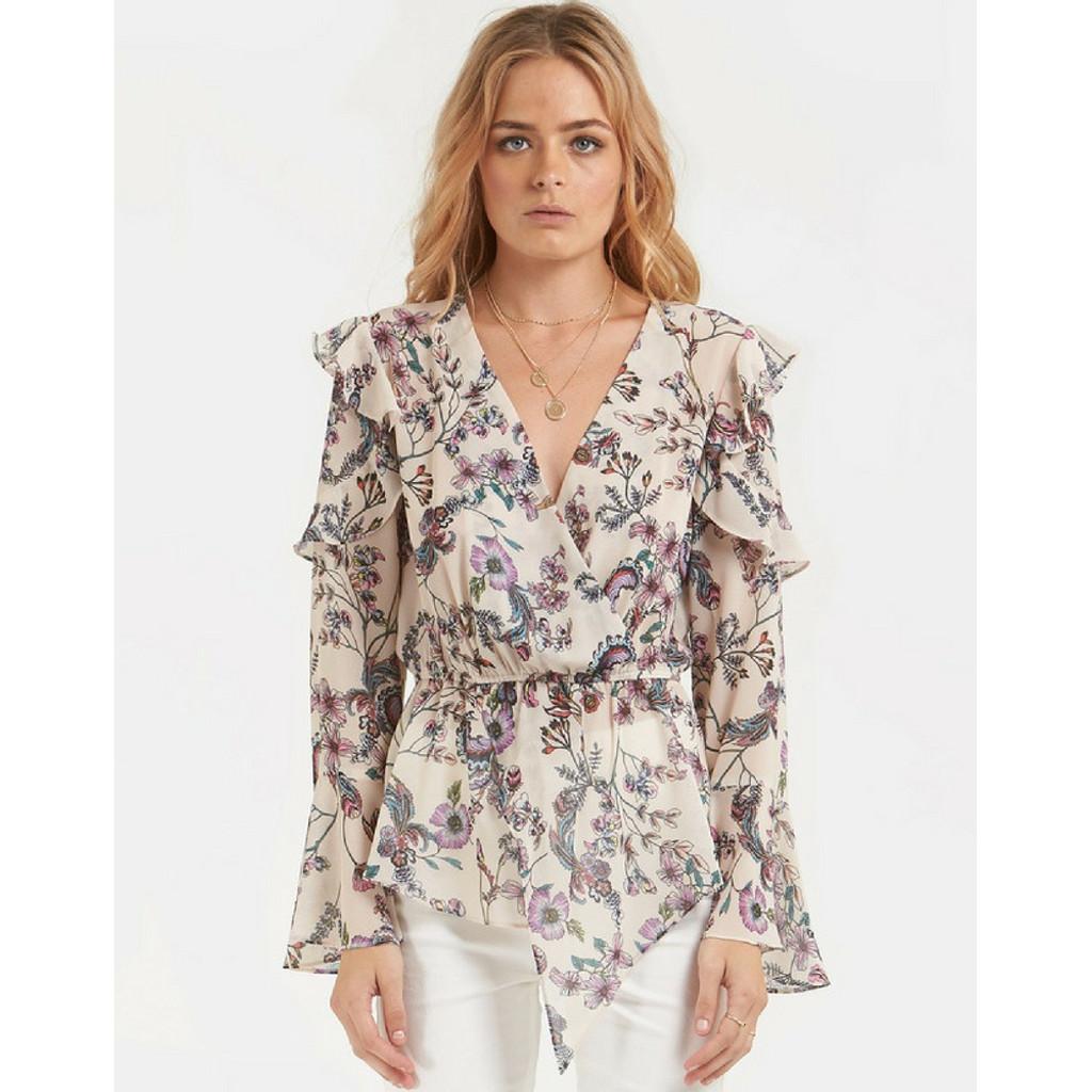 Women's Tops | Florita Long Sleeve Blouse | AMELIUS