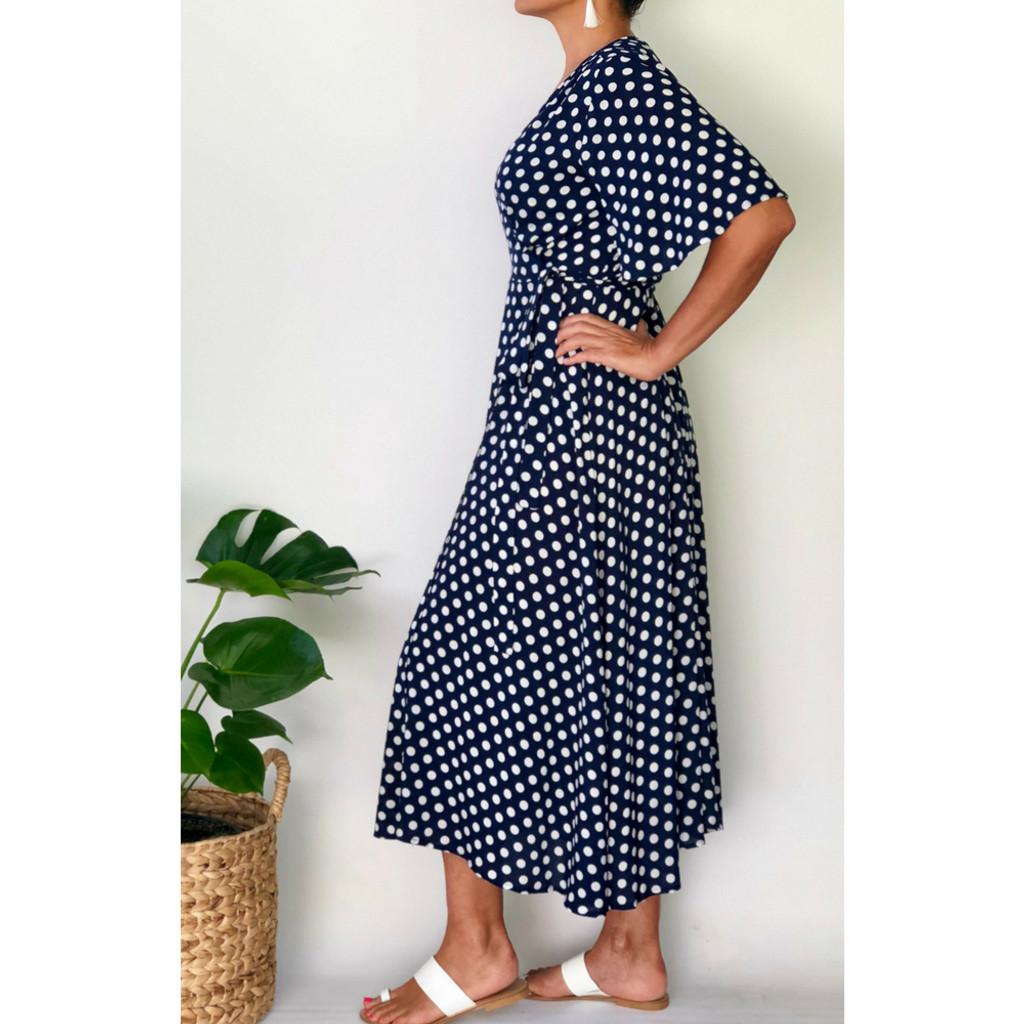 Ladies Dresses   Seraphina Midi Dress   NOOSA SOL