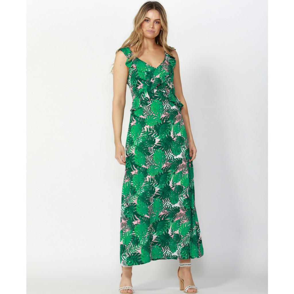 Ladies Dresses In Australia | Tropicana Ruffle Maxi | SASS