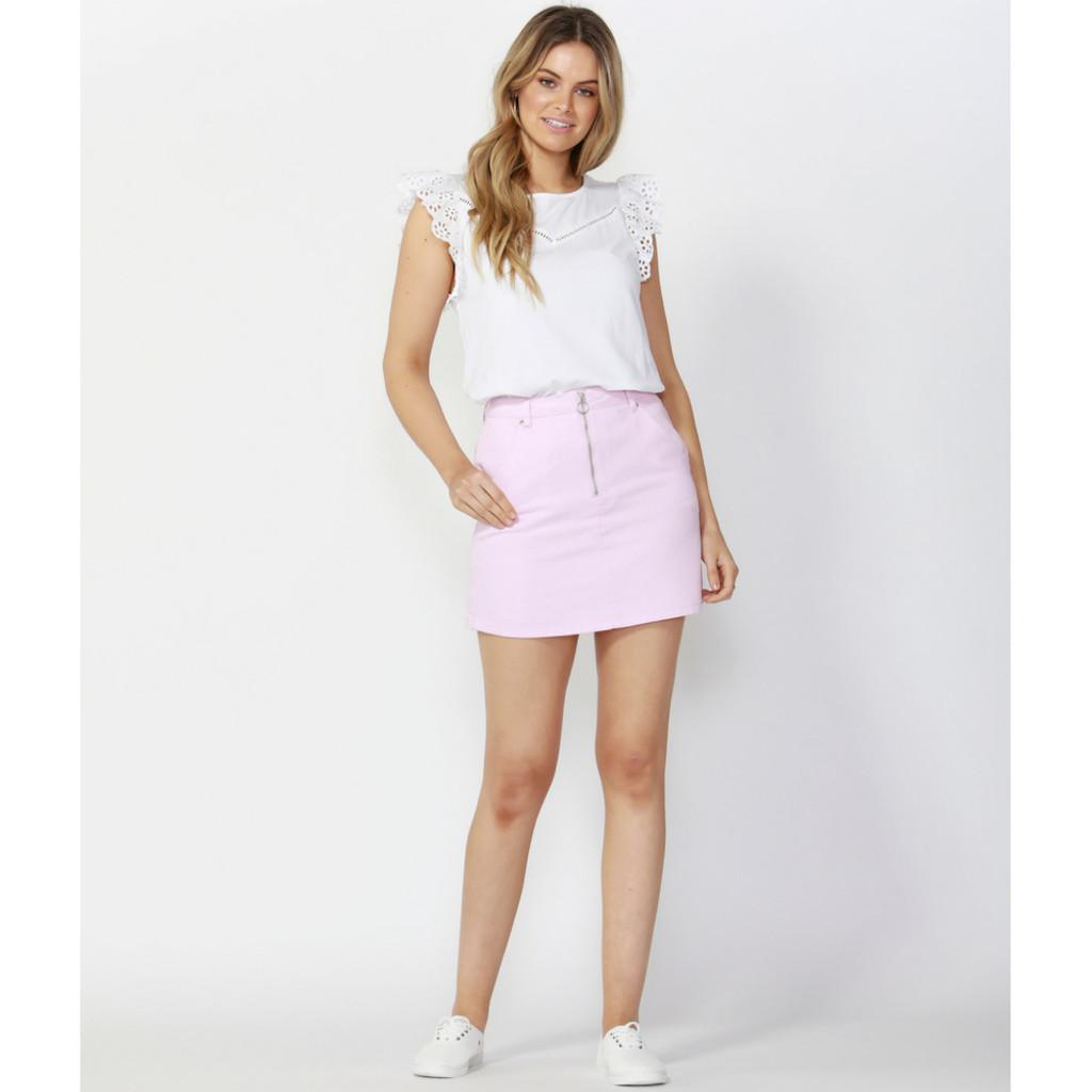 Women's Skirts Australia   Vacation Zip Up Skirt   SASS