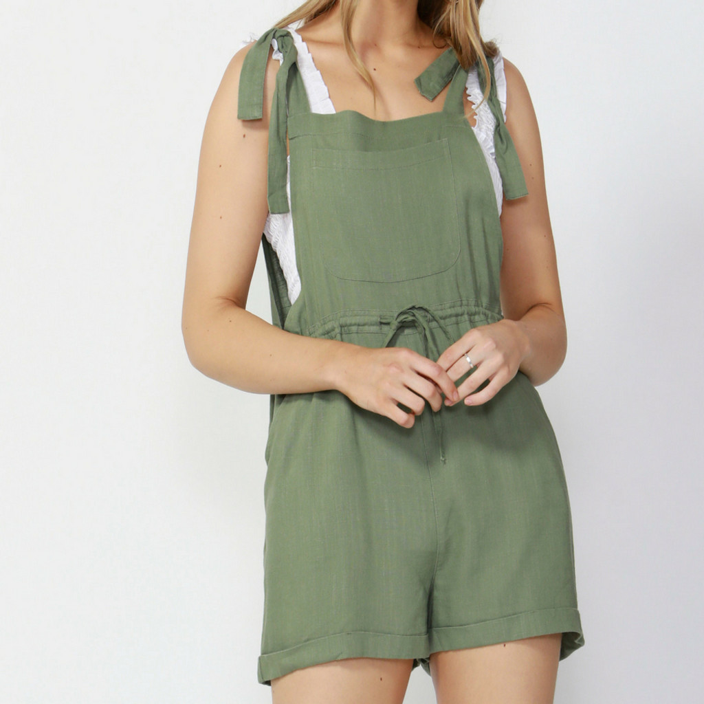 Ladies Jumpsuits | Beach Babe Overalls | SASS