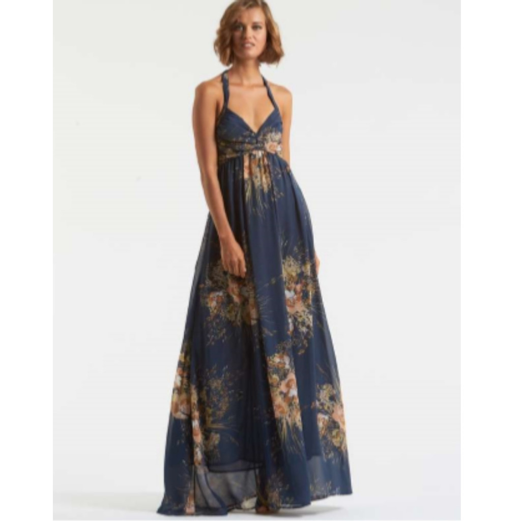 Woman's Dresses Online | Delilah Floral Maxi Dress | AMELIUS