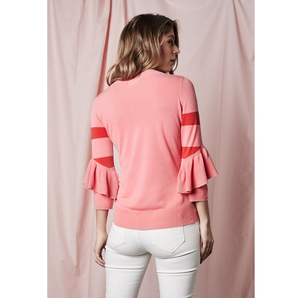 Women's Tops | Gemma Stripe Knit  | SAINT ROSE