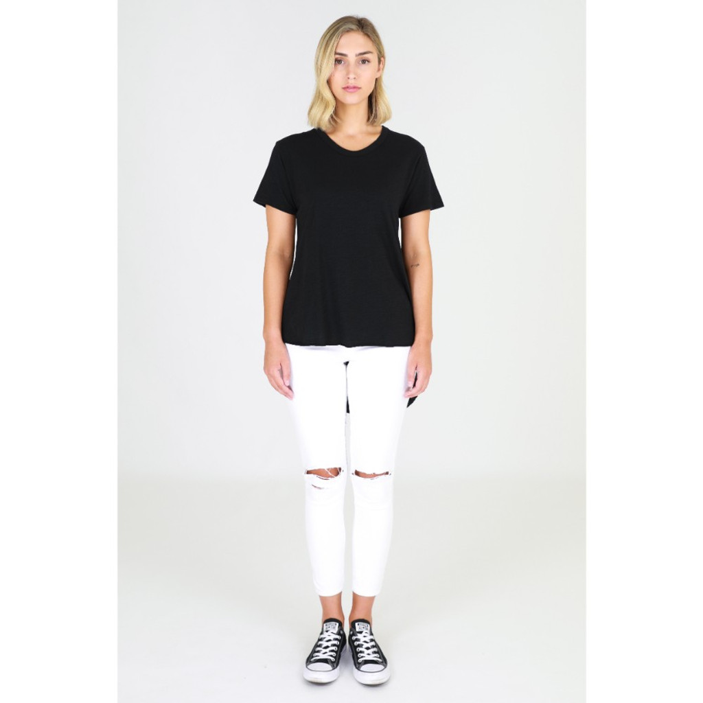 Sorrento Tee in Black by 3RD STORY*