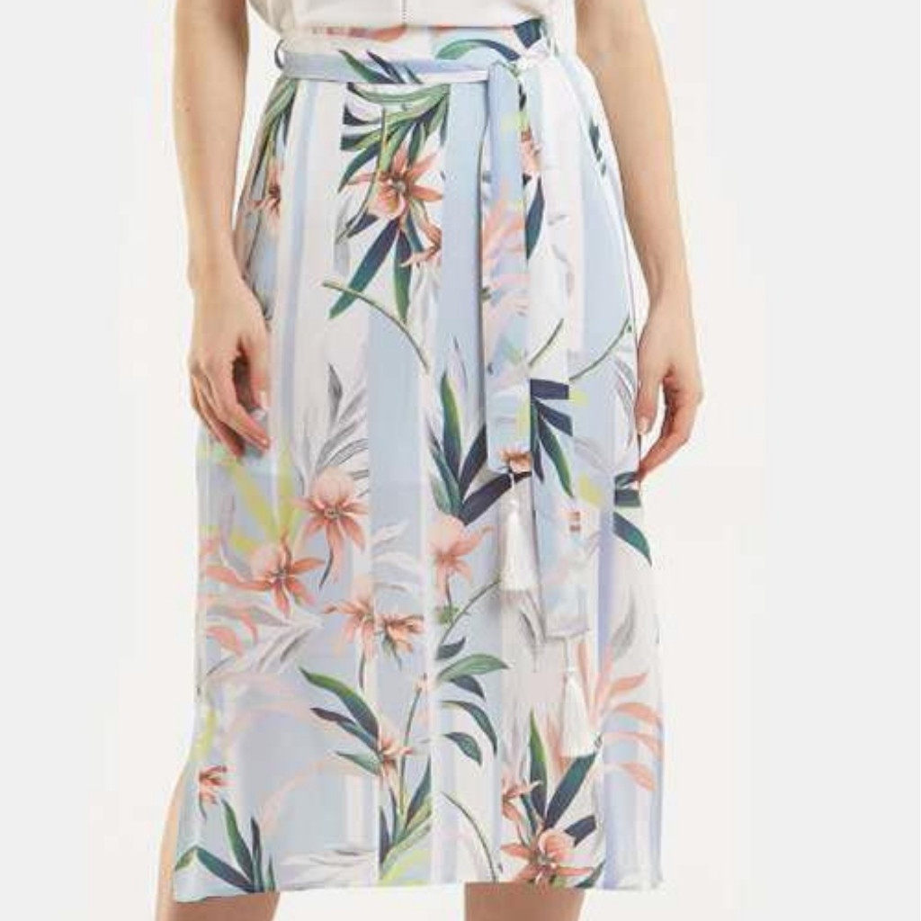Women's Skirts Australia | Blue Curacao Skirt | AMELIUS