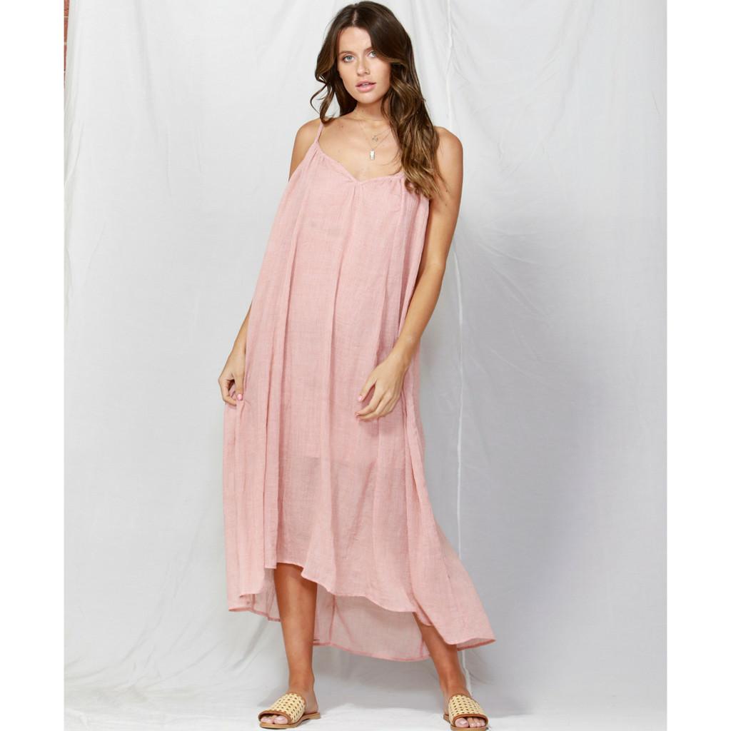 Women's Dresses | Sunday Strap Maxi Dress | FATE + BECKER