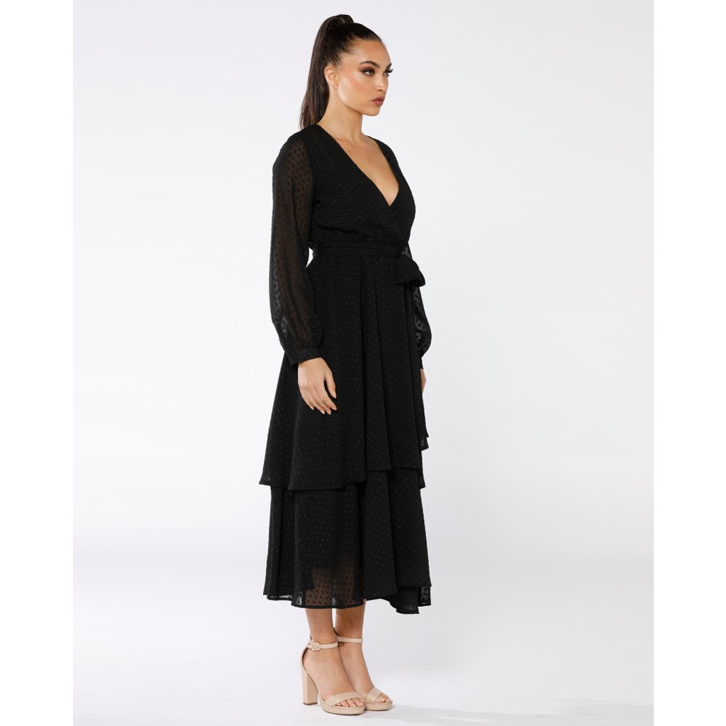 Women's Dresses Australia | The Tantra Long Sleeve Maxi | PIZZUTO