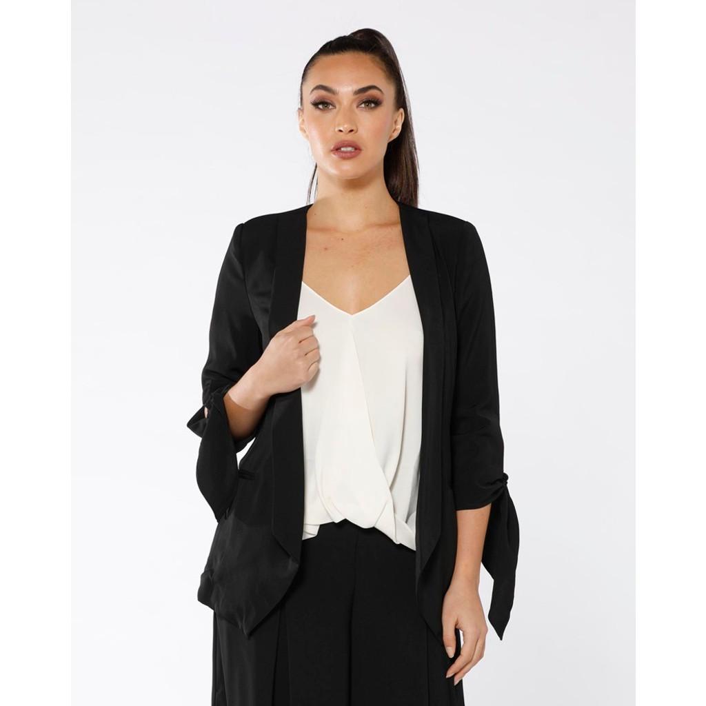 Women's Blazers | French Tie Blazer | PIZZUTO