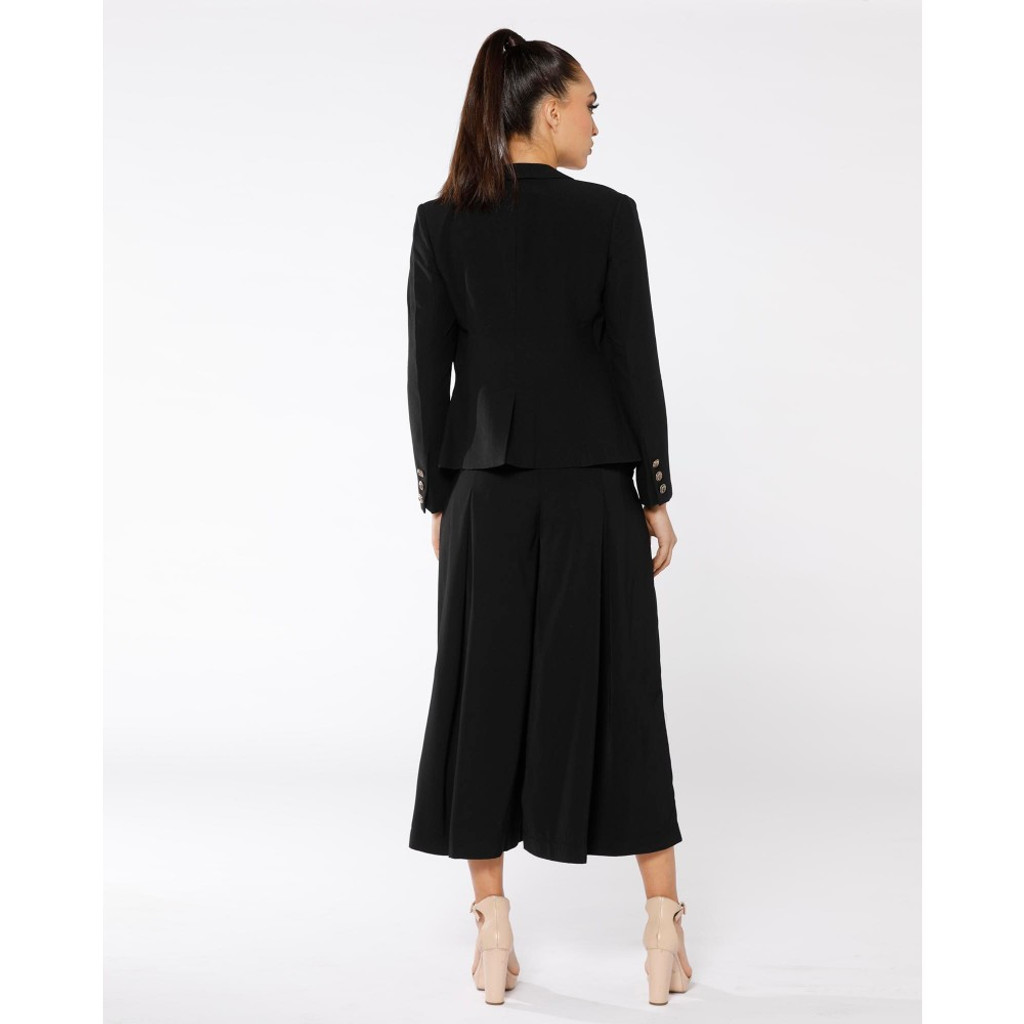 Women's Coats | Mon Coeur Noir Blazer | PIZZUTO