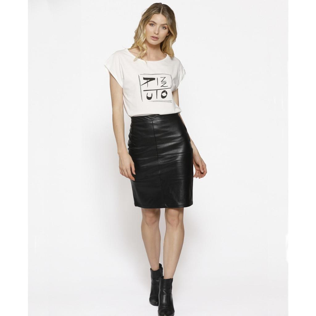 Women's Skirts | Similicuir Skirt | PIZZUTO
