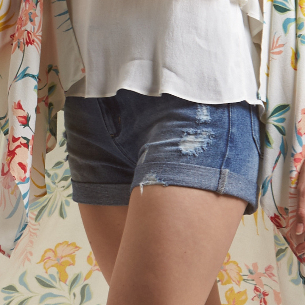 Women's Shorts | Bibi Denim Shorts | AMELIUS