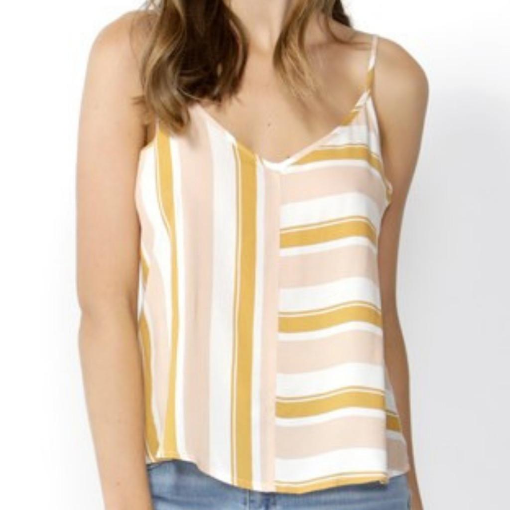 Women's Cami Australia | Saffron Stripe Cami | SASS