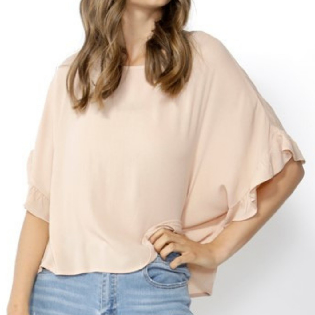 Women's Tops Australia | Dream Big Ruffle Sleeve Blouse | SASS
