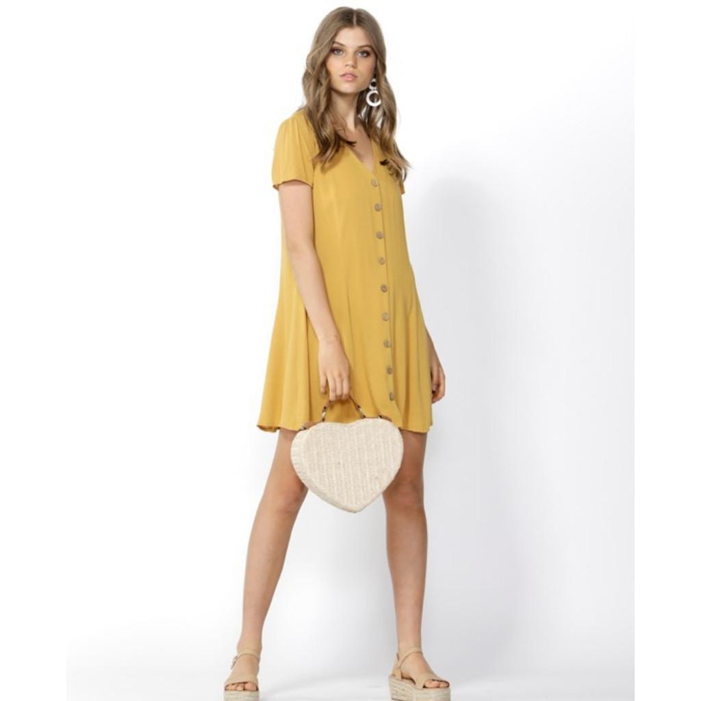 Women's Dresses   Sweet Thing Button Thru Dress   SASS