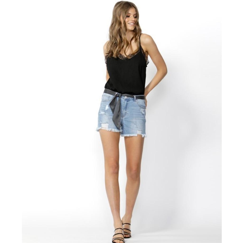 Women's Shorts | Run Free Cut Off Denim Shorts | SASS