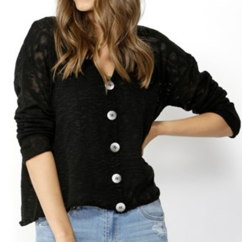 Women's Cardigans | Girl Crush Buttoned Cardi | SASS