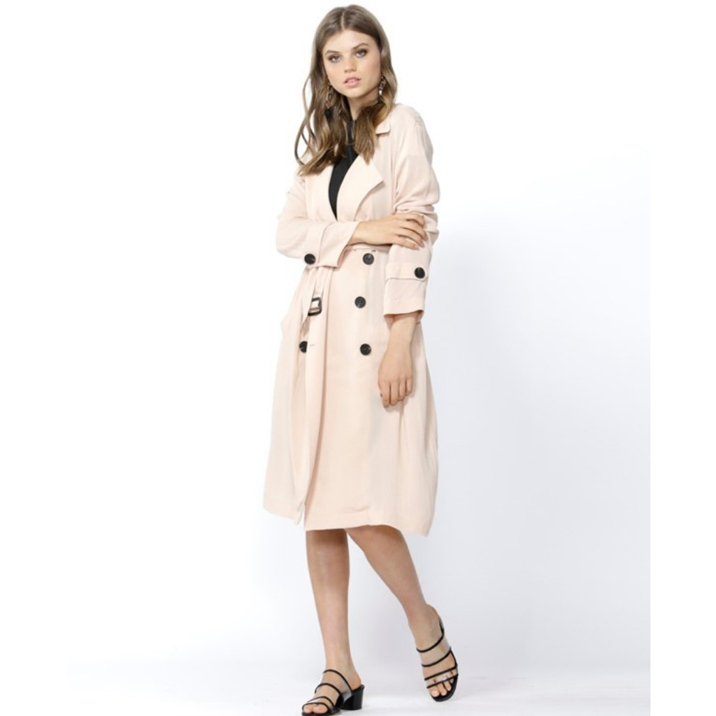 Women's Coats | Missing In Action Soft Trench | SASS
