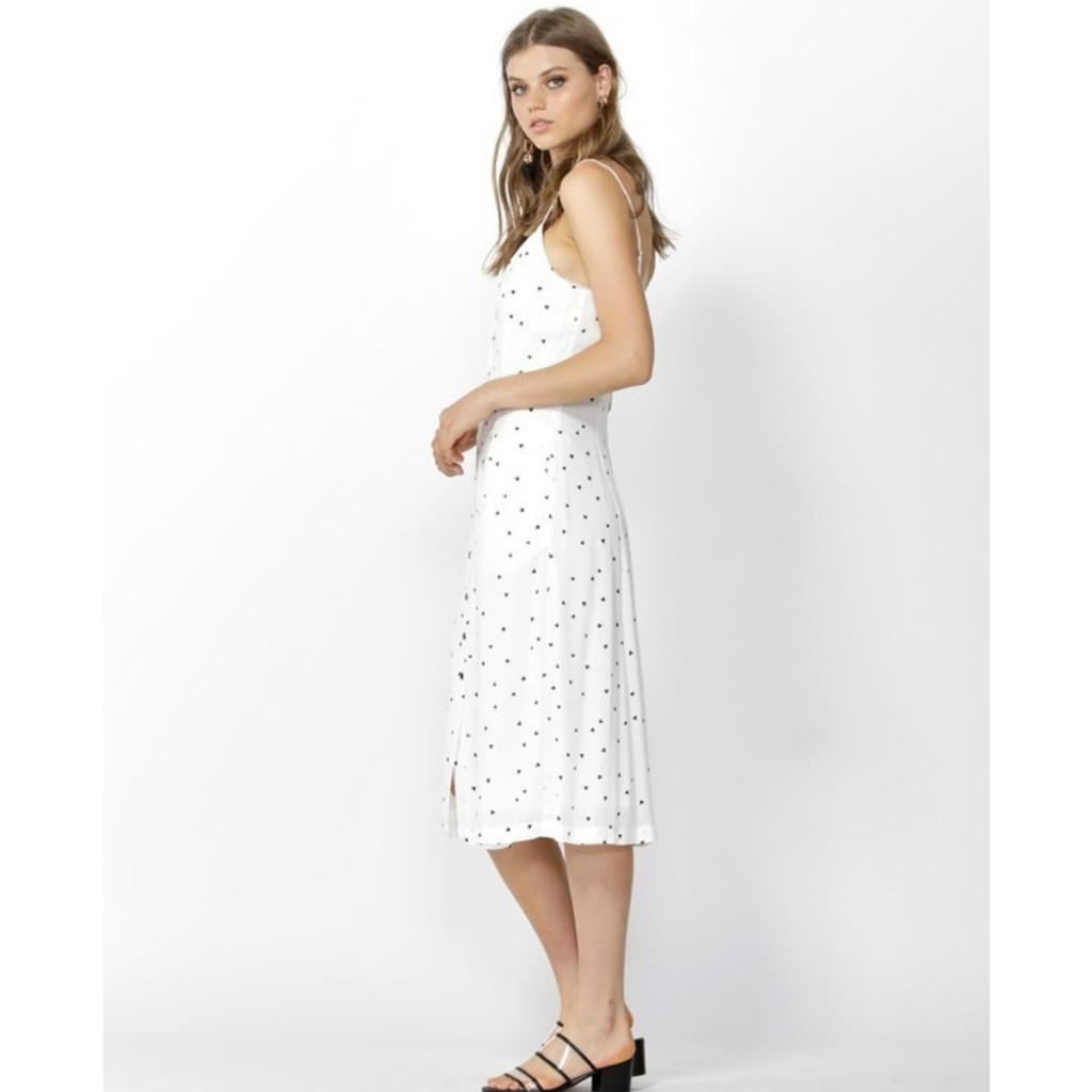 Women's Dresses Online | Floating Hearts Slip Dress | SASS