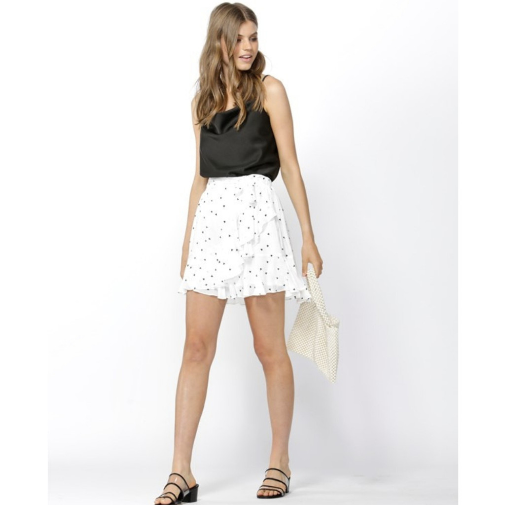 Women's Skirts Online | Floating Heart Ruffle Skirt | SASS