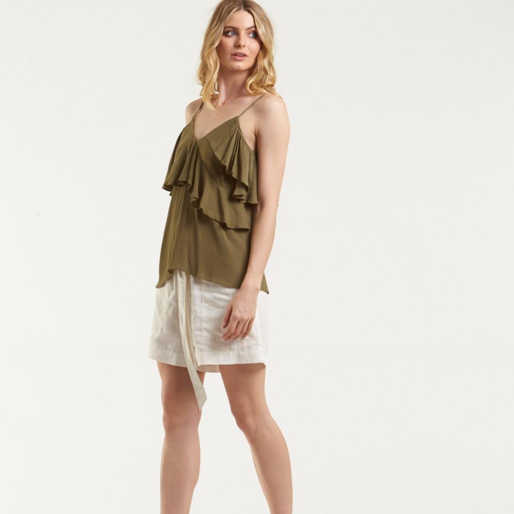 Women's Tops Online | Hibiscus Cami Top | AMELIUS