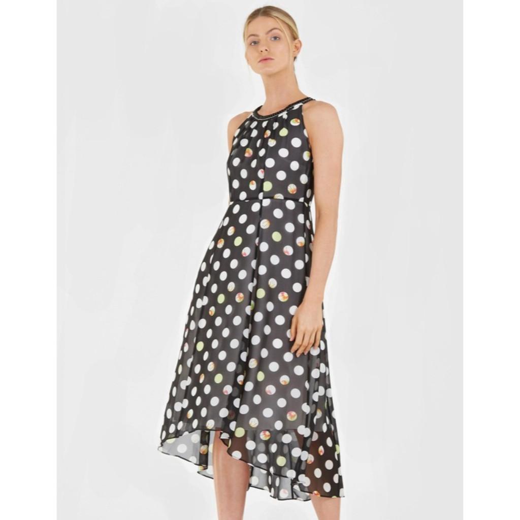 Sabrina Spot Dress by SOCIALIGHT*